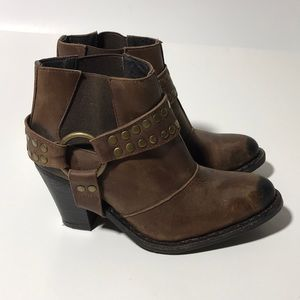 Jeffrey Campbell Ankle Studded Harness Bootie 7